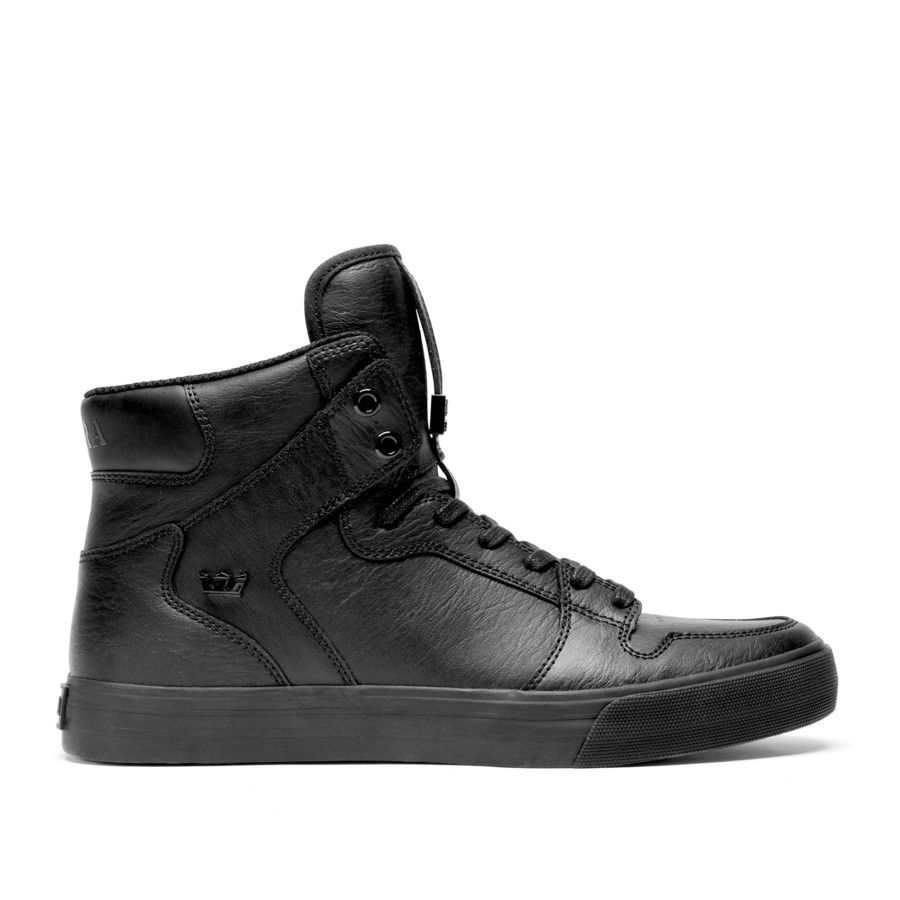 Black Supra Shoes