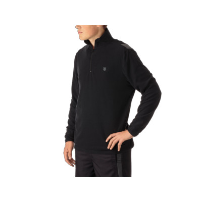 MENS L/S ZIP MOCK