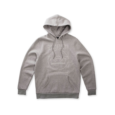LINES HOODED PULLOVER
