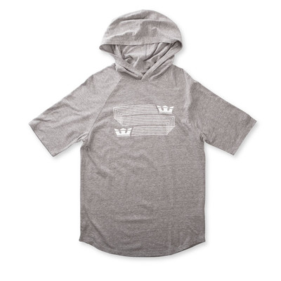 LINKED CROWN HOODED RAGLAN