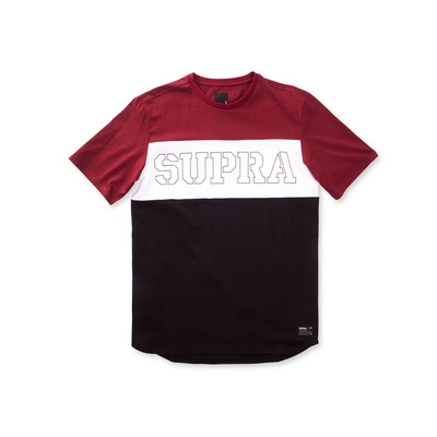 TRI COLOR BLOCK SS TEE
