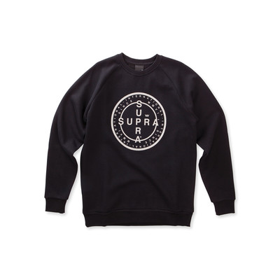 CROSS SEAL CREW SWEATSHIRT