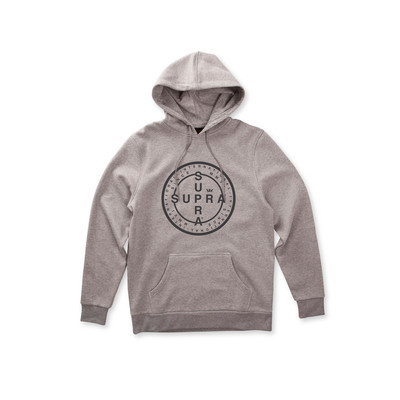 CROSS SEAL HOODED PULLOVER