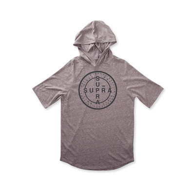 CROSS SEAL S/S HOODED RAGLAN