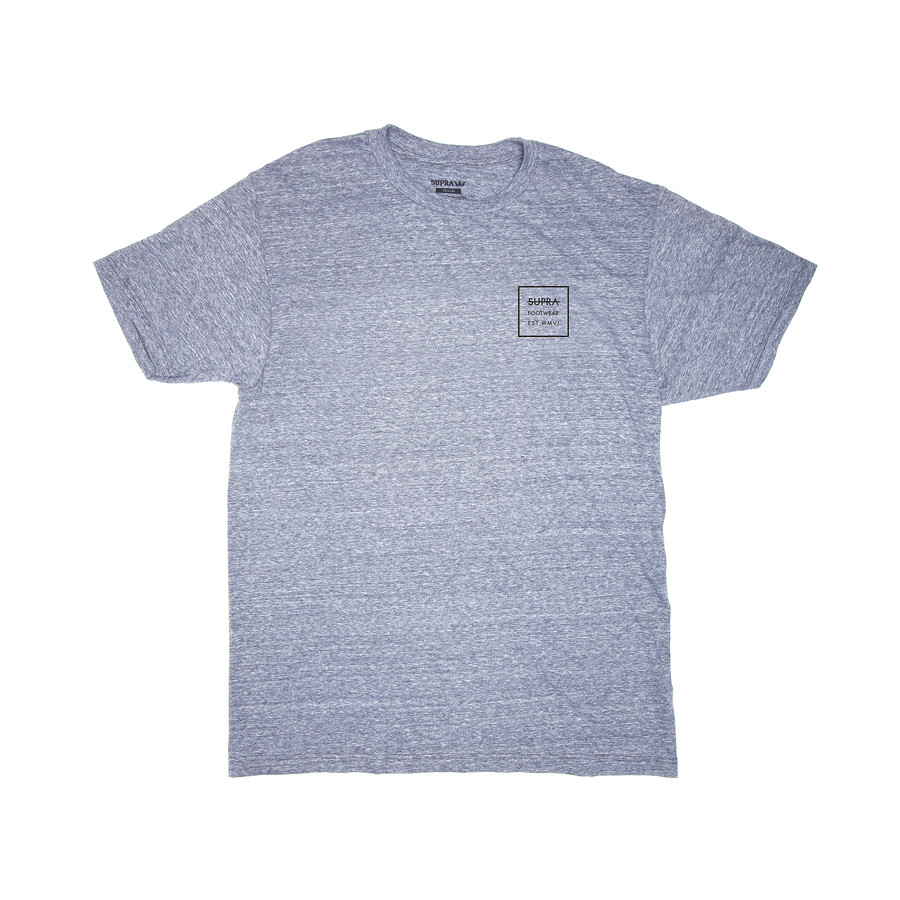 LABEL SQUARE REG TEE